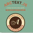 Arctext.js   Curving text with CSS3 and jQuery